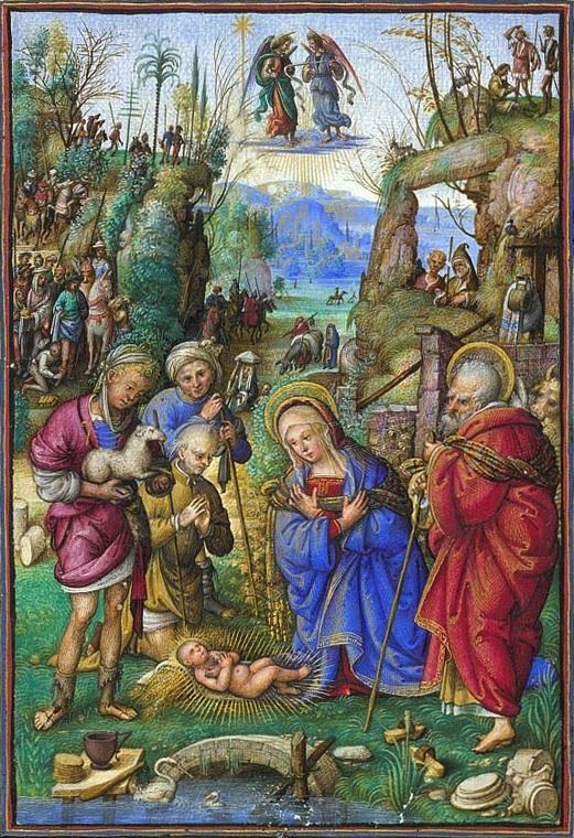 kerstmis miniatuur.…